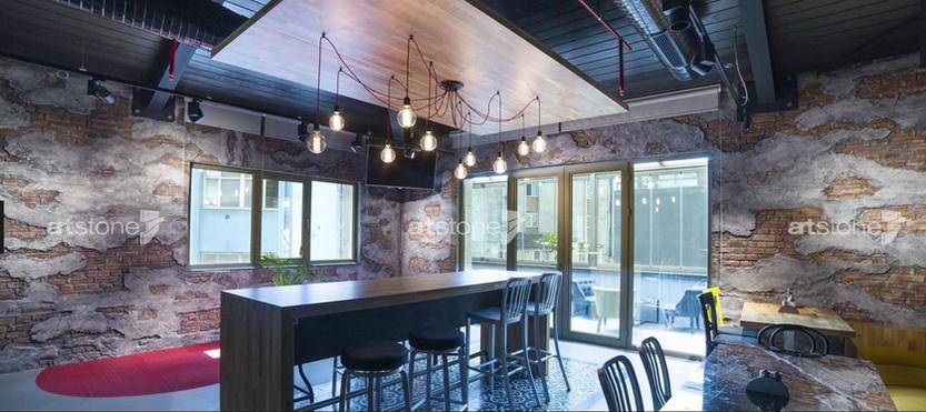 Rustikale Loft Architektur