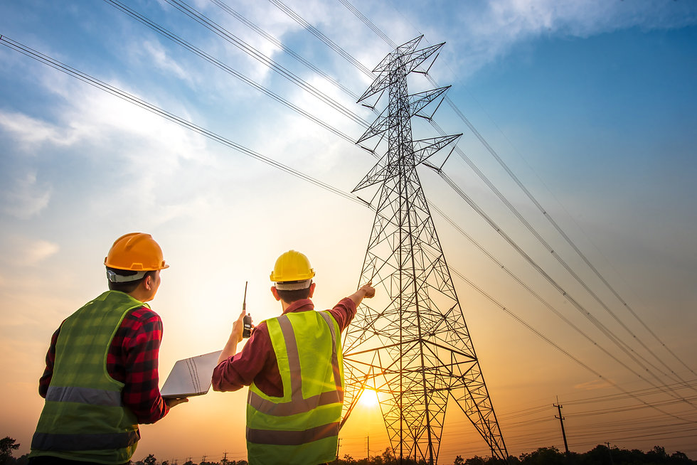 picture-two-electrical-engineers-checking-electrical-work-using-computer-standing-power-st