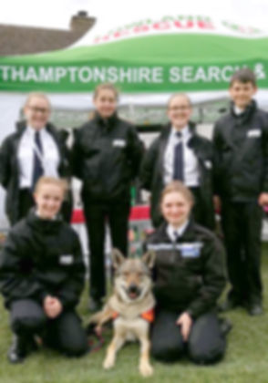 Supporting Northants Search & Rescue ver