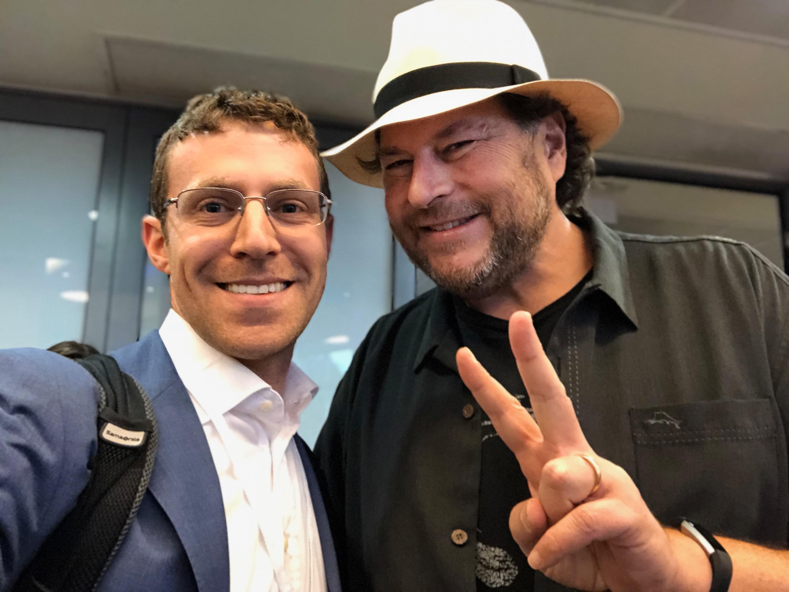 Elan Mosbacher, Marc Benioff, Salesforce CEO