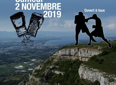 Cours de ce samedi reporté au 2 novembre