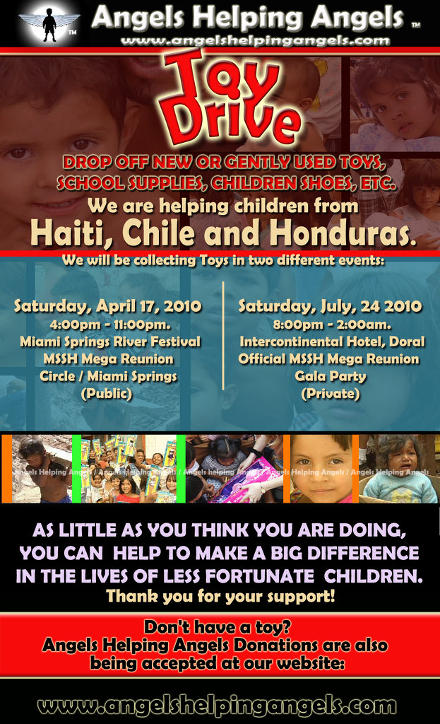 poster toy drive angels Haiti, Chile and Honduras copy.jpg