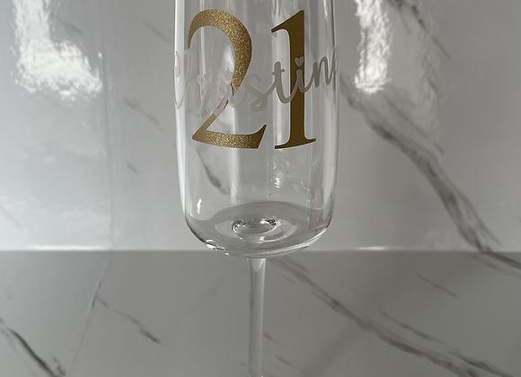 Bespoke Champagne Flute