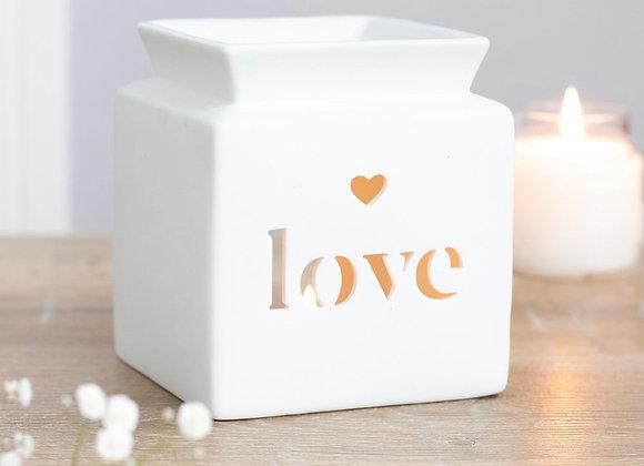 Love Cut Out Wax Warmer