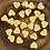 Thumbnail: Mini wax hearts - 25 Pack