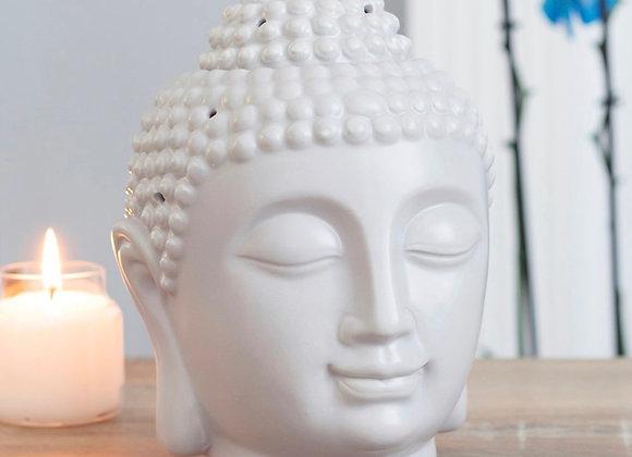 Grey Buddha Head Wax Warmer