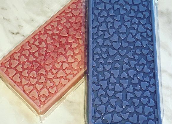 Large Luxury Heart Snap Bar Wax Melt