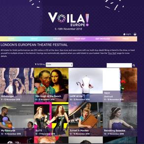 VOILA! - LONDON'S EUROPEAN THEATRE FESTIVAL