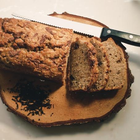 Banana Bread Tea Loaf