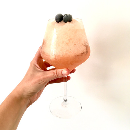 Blueburry Gin-ger Muffin Cocktail