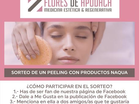 Bases legales de participación en la promoción 'Peeling de Naqua'
