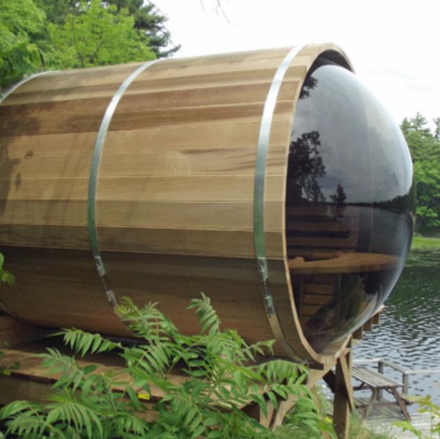 Barrel lakeside