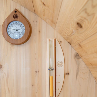 Tranquility sauna accessories