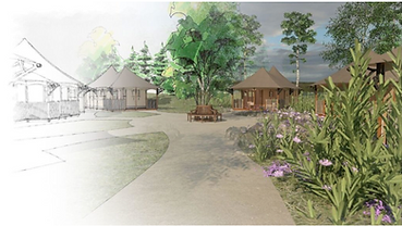 Glamping resort with Twilight lodges