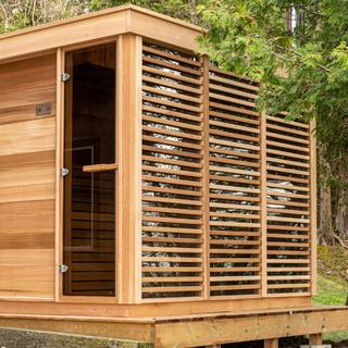 Outdoor Pure Cube Sauna
