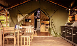 Safari Tents Whakamarama Face on Front D