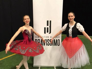 Compétition Bravissimo 20 au 22 avril  2018