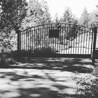Artsy pic of the winery gate.jpg.jpg