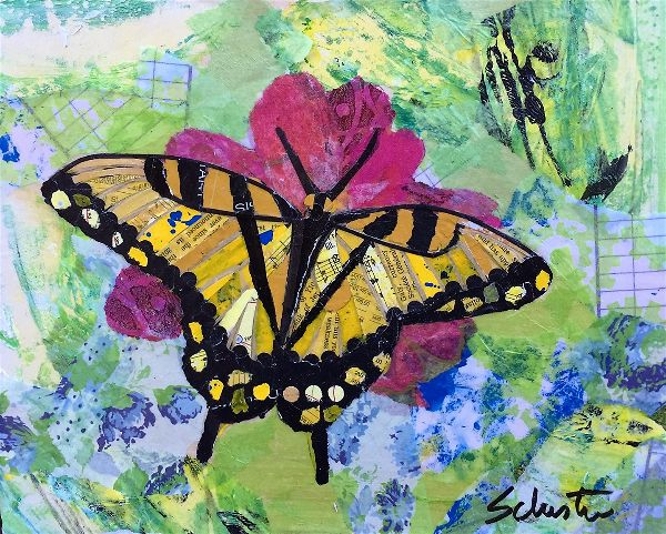 Yellow butterfly   $90
