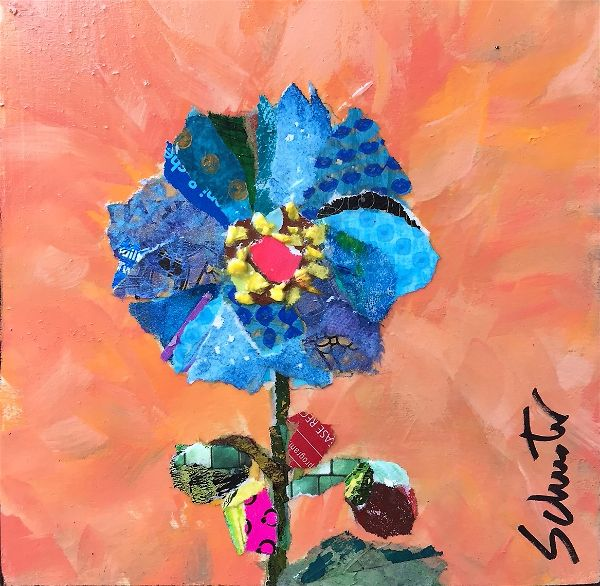 Blue poppy    SOLD