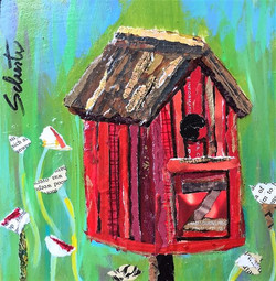 Small birdhouse    $55
