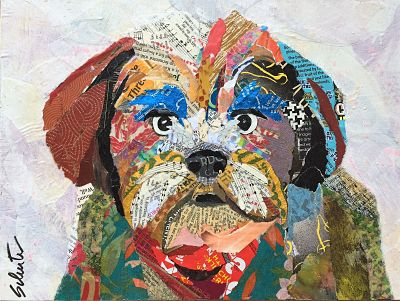 Dog with attitude  SOLD!