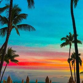 #happythings Hawaiian Sunsets. 🌈.jpg