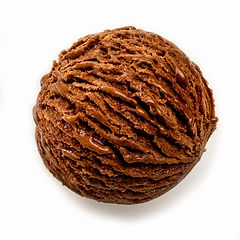 Chocolat cuillère à crème glacée