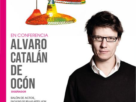 CONFERENCIA. ÁLVARO CATALÁN DE OCÓN. Diseñador.