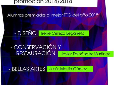 Seleccionadxs a los premios TFG del año 2018