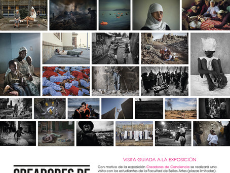 "VISITA GUIADA A LA EXPOSICIÓN ""CREADORES DE CONCIENCIA, 40 FOTÓGRAFOS COMPROMETIDOS"""