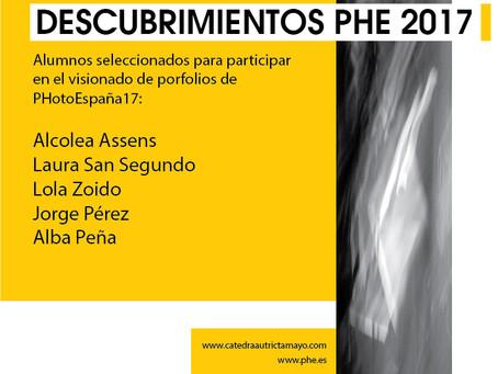 Estudiantes Seleccionados DESCUBRIMIENTOS PHE17