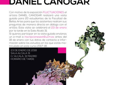 CONVOCATORIA ABIERTA // DANIEL CANOGAR