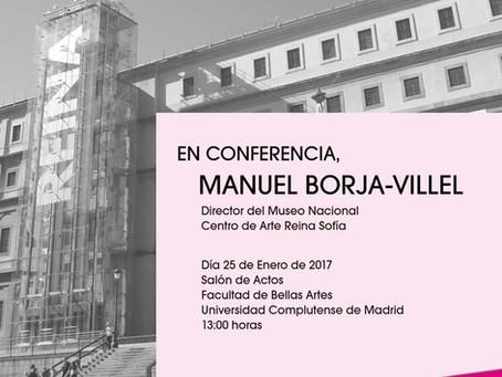 PRESENTACIÓN CÁTEDRA AUTRIC TAMAYO Y CONFERENCIA MANUEL BORJA VILLEL