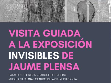 CONVOCATORIA ABIERTA // VISITA GUIADA A LA EXPOSICIÓN «INVISIBLES», DE JAUME PLENSA