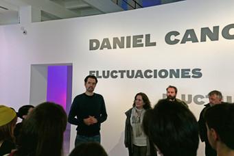 Visita Guiada // Fluctuaciones // Daniel Canogar