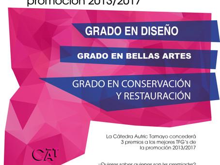 Premios TFG Autric-Tamayo // promoción 2013/2017
