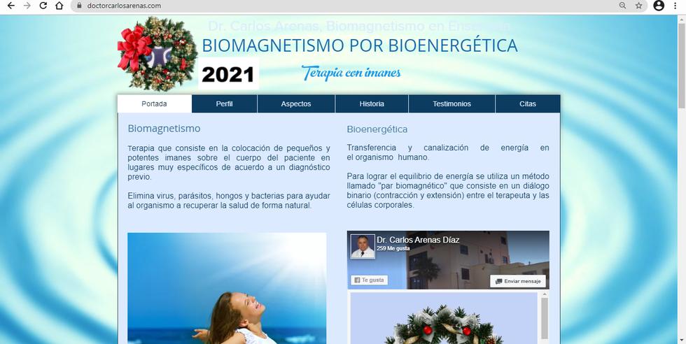 Biomagnestismo por Bioenergética