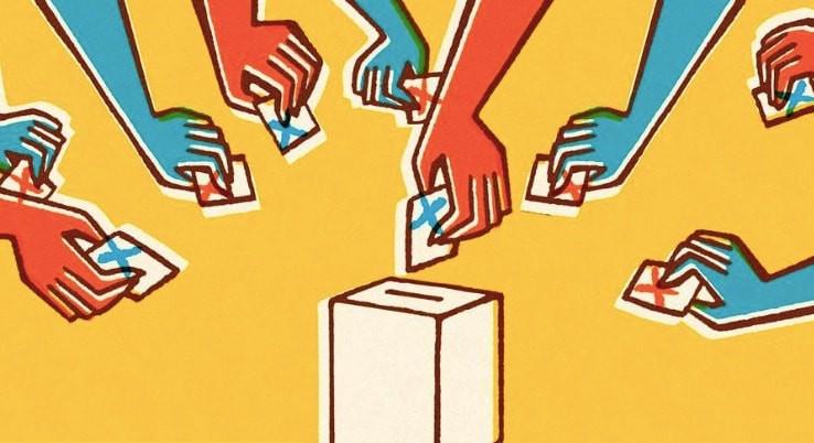 votacão na urna