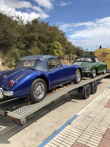 Porsche & MG