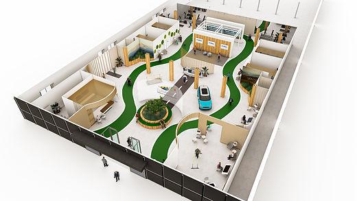 3D grondplan Glabbeek