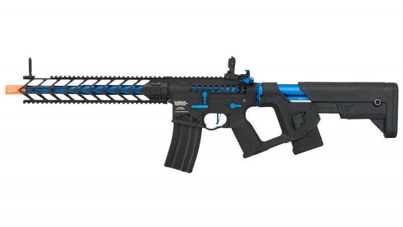"Lancer Tactical Enforcer Series Proline ""Nightwing"" Skeleton AEG Rifle - BLUE"