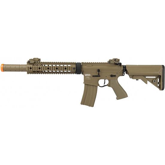 """Lancer Tactical M4 SD Proline Series 9"""" Rail Airsoft AEG [HIGH FPS] - TAN"""