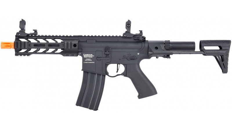Lancer Tactical ProLine BATTLE HAWK PDW AEG [HIGH FPS] - BLACK