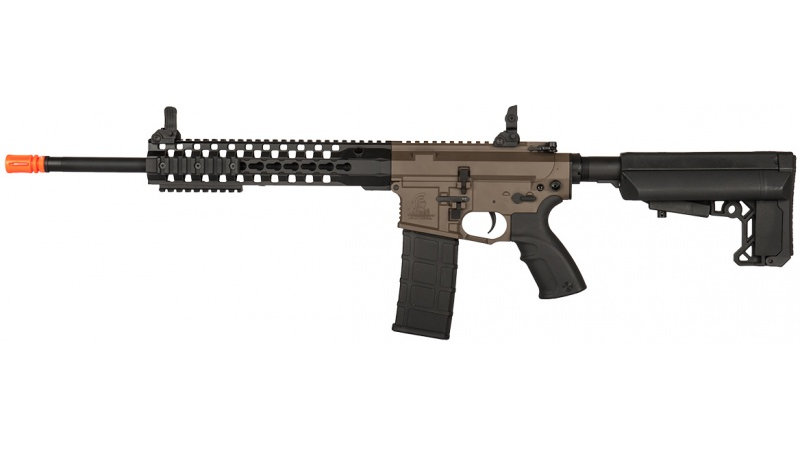 "Lancer Tactical M4 Advance Recon Carbine 16"" Airsoft AEG - DARK EARTH"