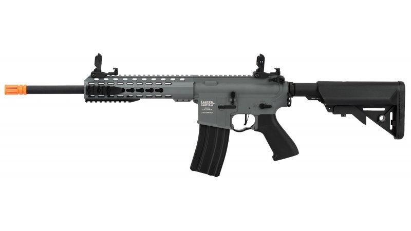"Lancer Tactical LT-19 ProLine Series M4 Carbine 10"" AEG [LOW FPS] - GRAY"