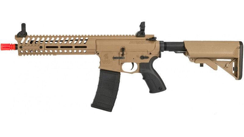 "Lancer Tactical M4 AEG Multi-Mission Carbine w/ 10.5"" Barrel - TAN"