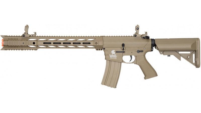 "Lancer Tactical M4 SPR ""Interceptor"" LT-25 GEN 2 AEG - TAN - high"