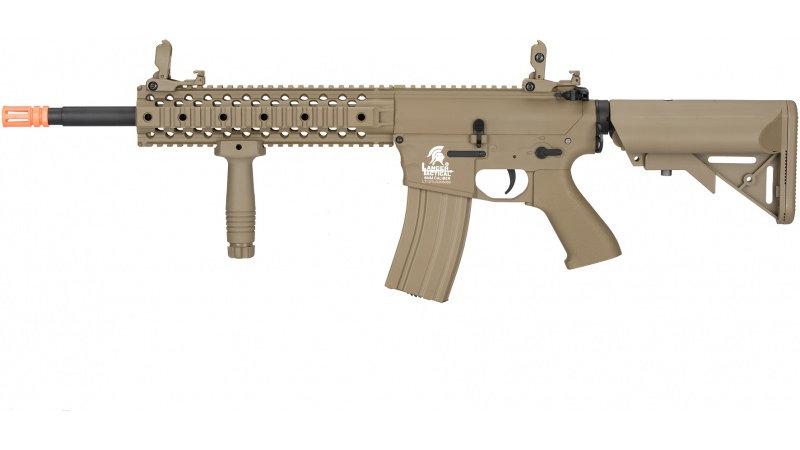 Lancer Tactical M4 Gen 2 EVO AEG Airsoft Rifle - TAN
