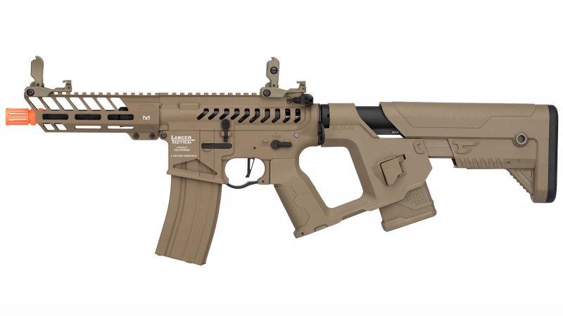Lancer Tactical Enforcer NEEDLETAIL Skeleton AEG [LOW FPS] - TAN